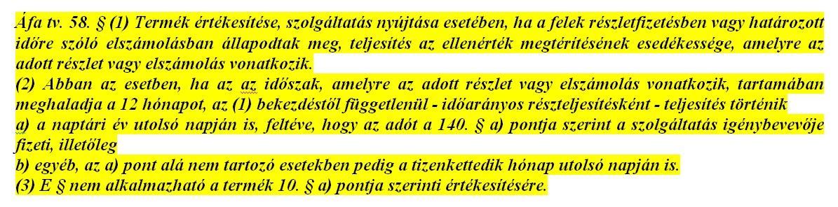 Áfa tv. 58.§.