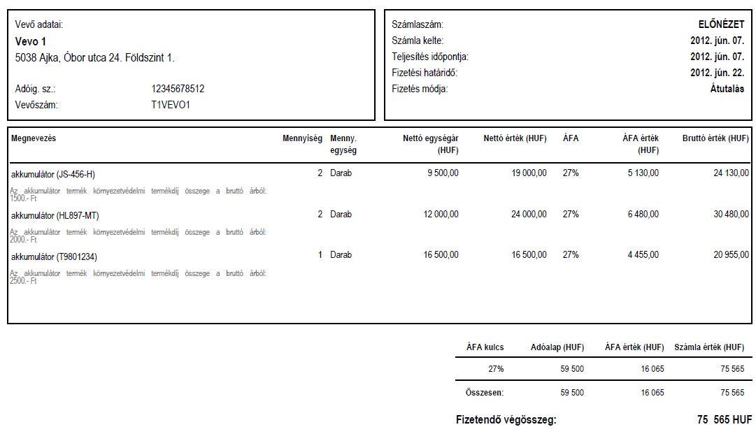 758ee97e6704 Termékdíj számlán történő feltüntetésének 2012. évi szabályai ...