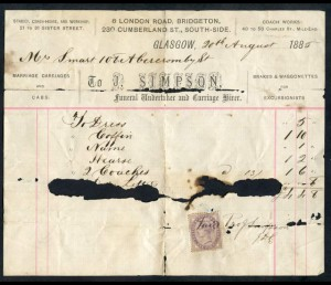 1885_Glasgow_funeral_invoice