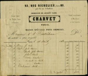 Charvet_invoice_Destrehan_1860